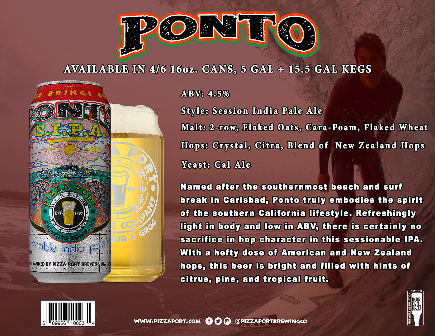 Ponto Session IPA