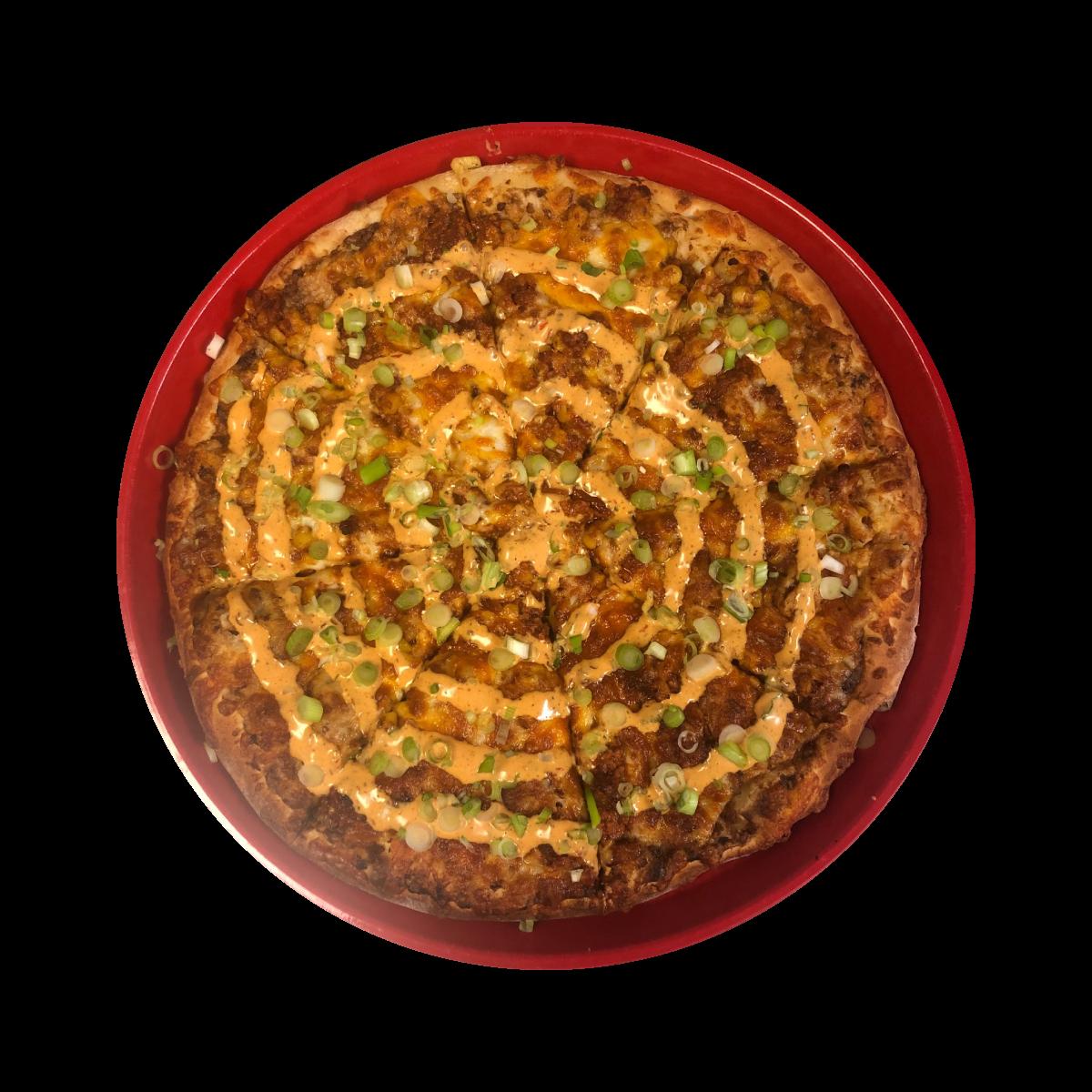 The Cornrizo Pizza