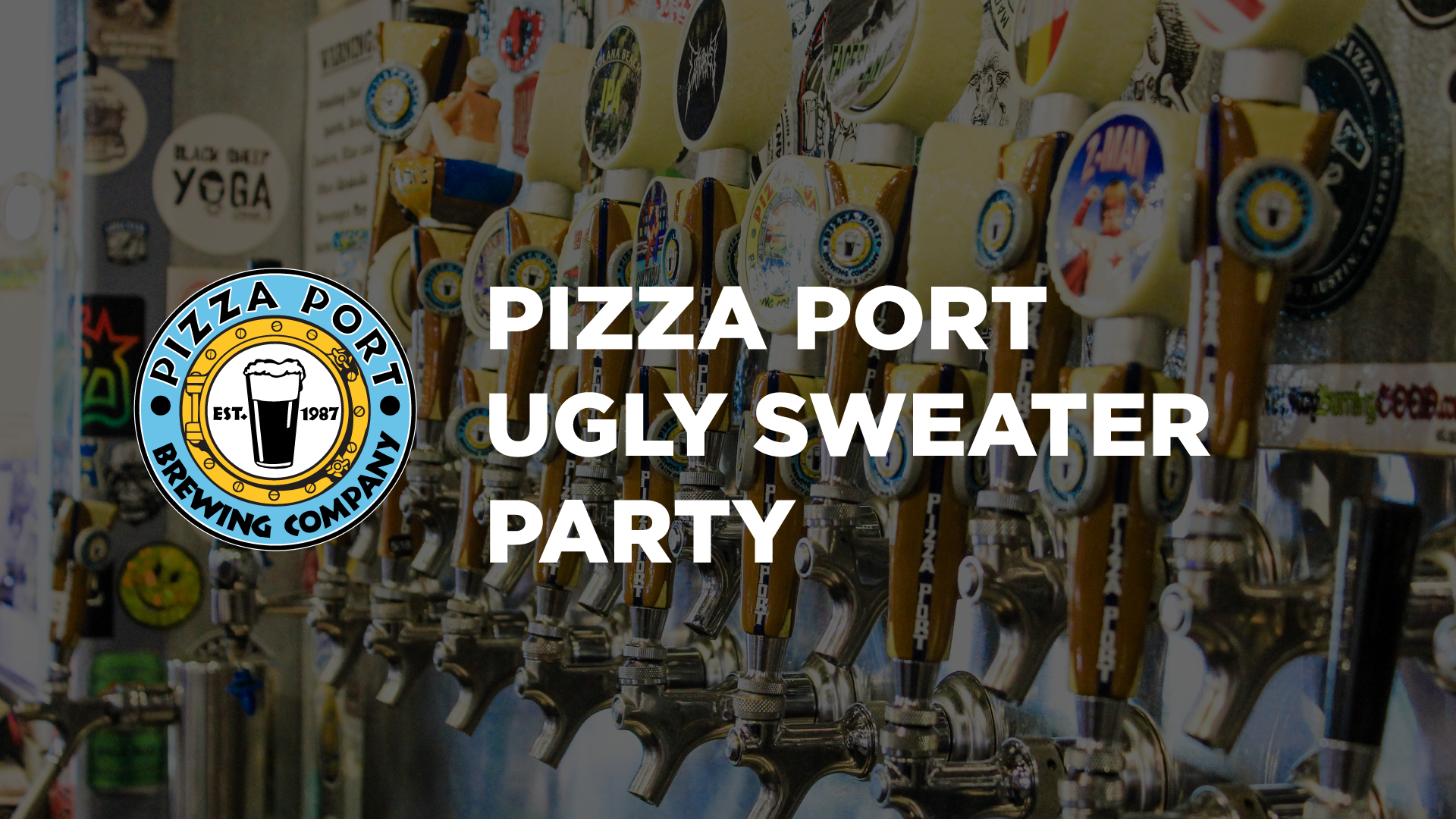 Pizza Port Ugly Sweater Party