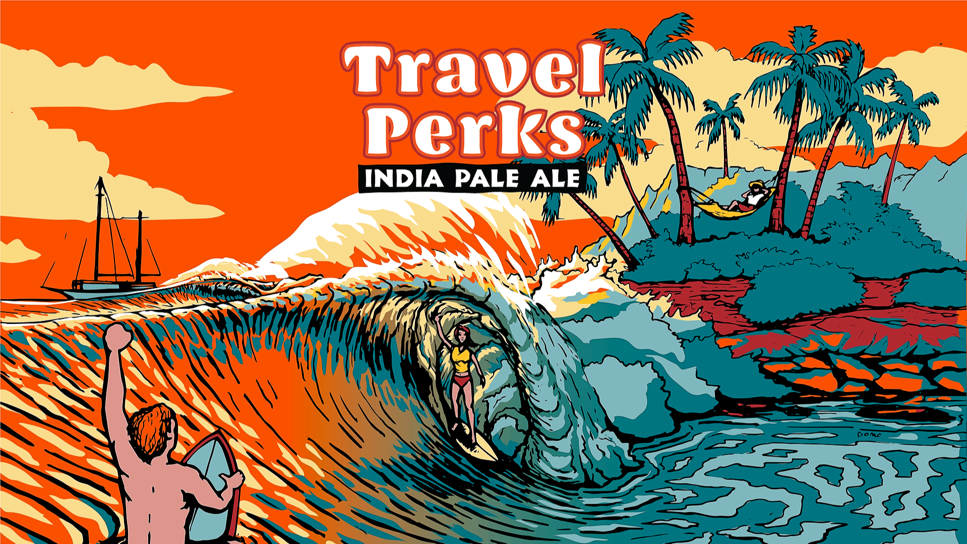 Travel Perks IPA Can Release