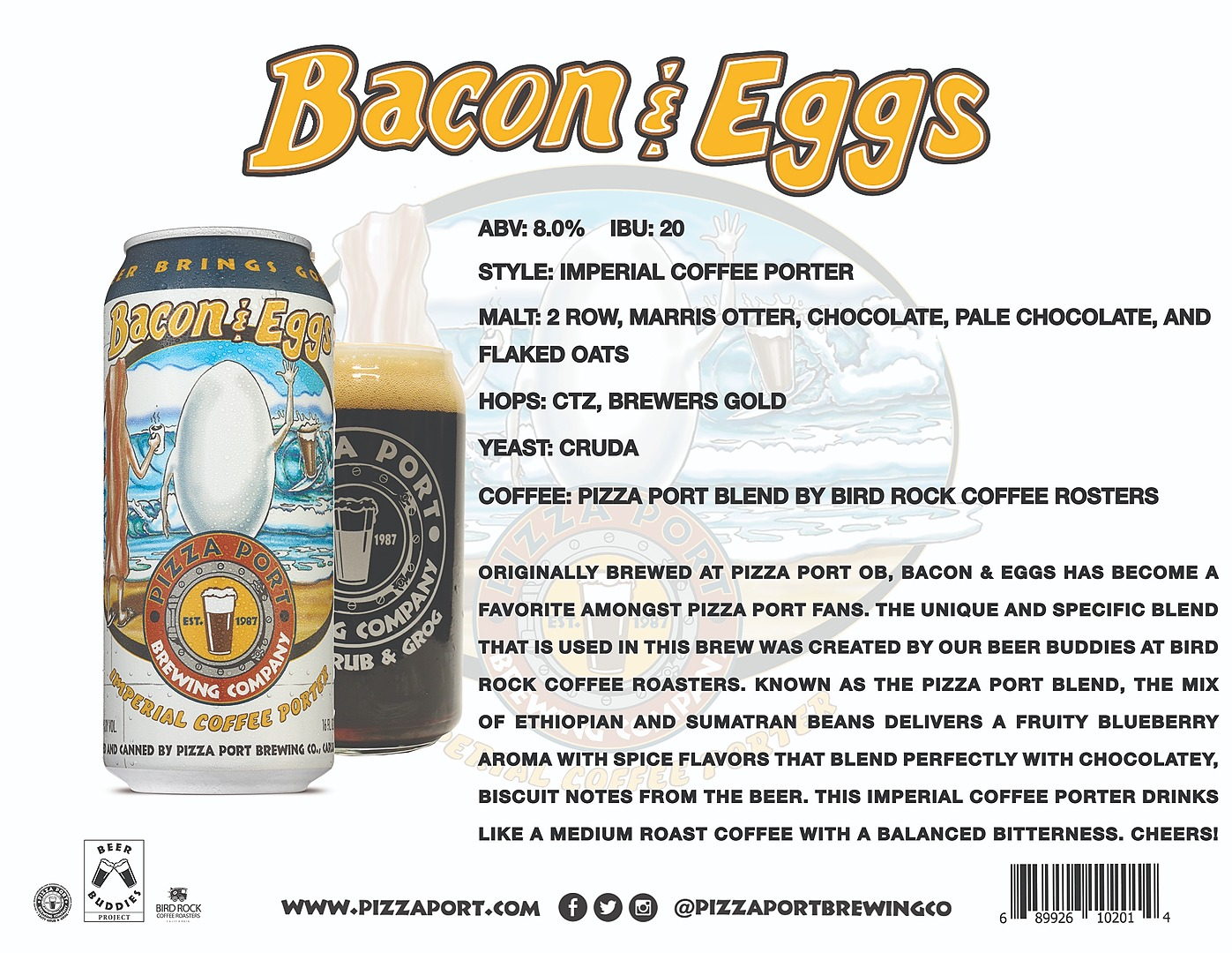 Bacon & Eggs Imperial Coffee Porter