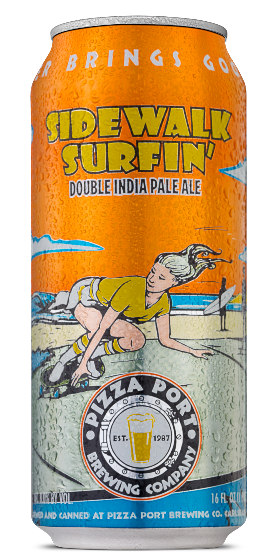 Sidewalk Surfin' Can