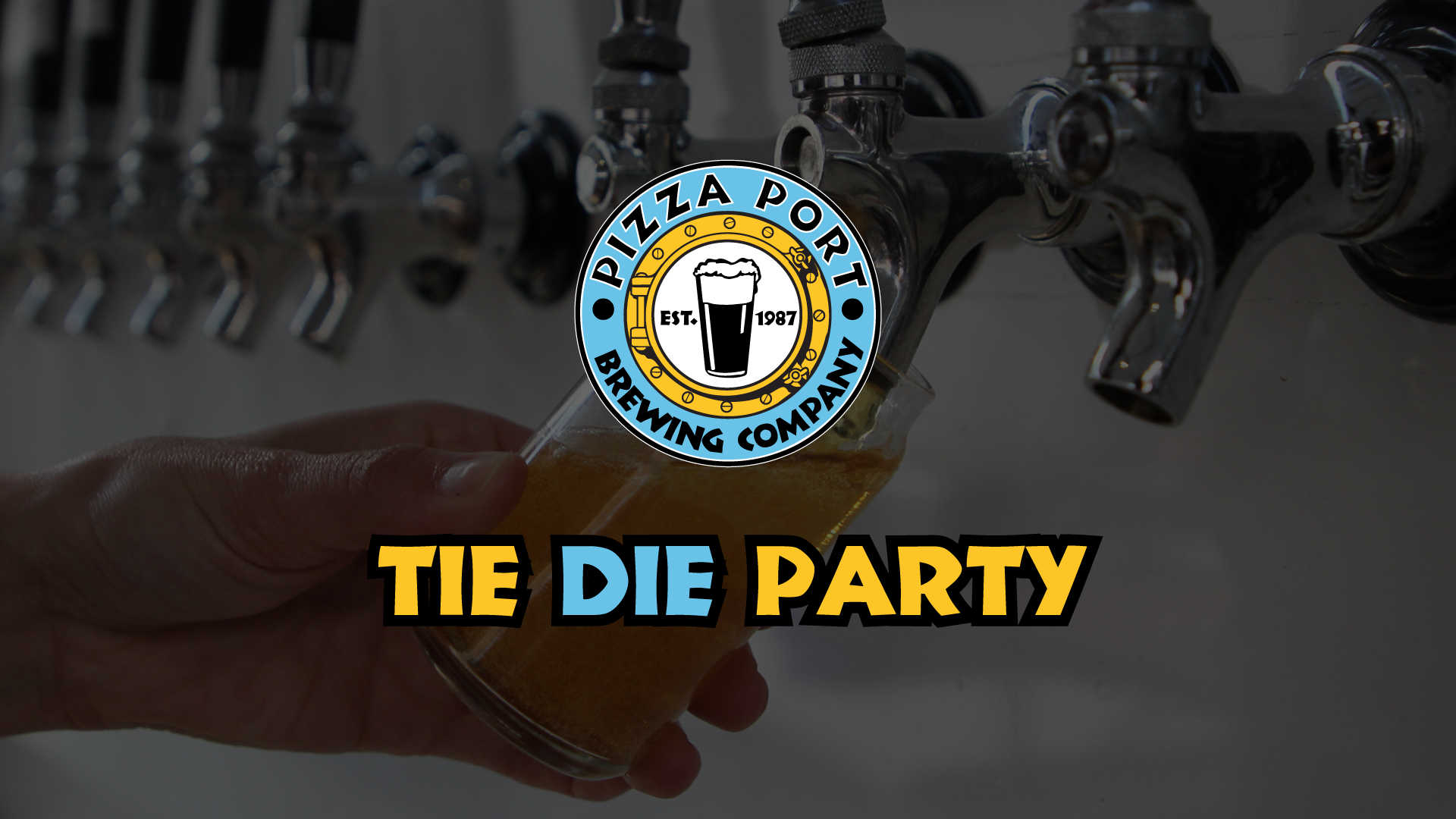 Tie Dye Party - Silicon Valley Beer Week