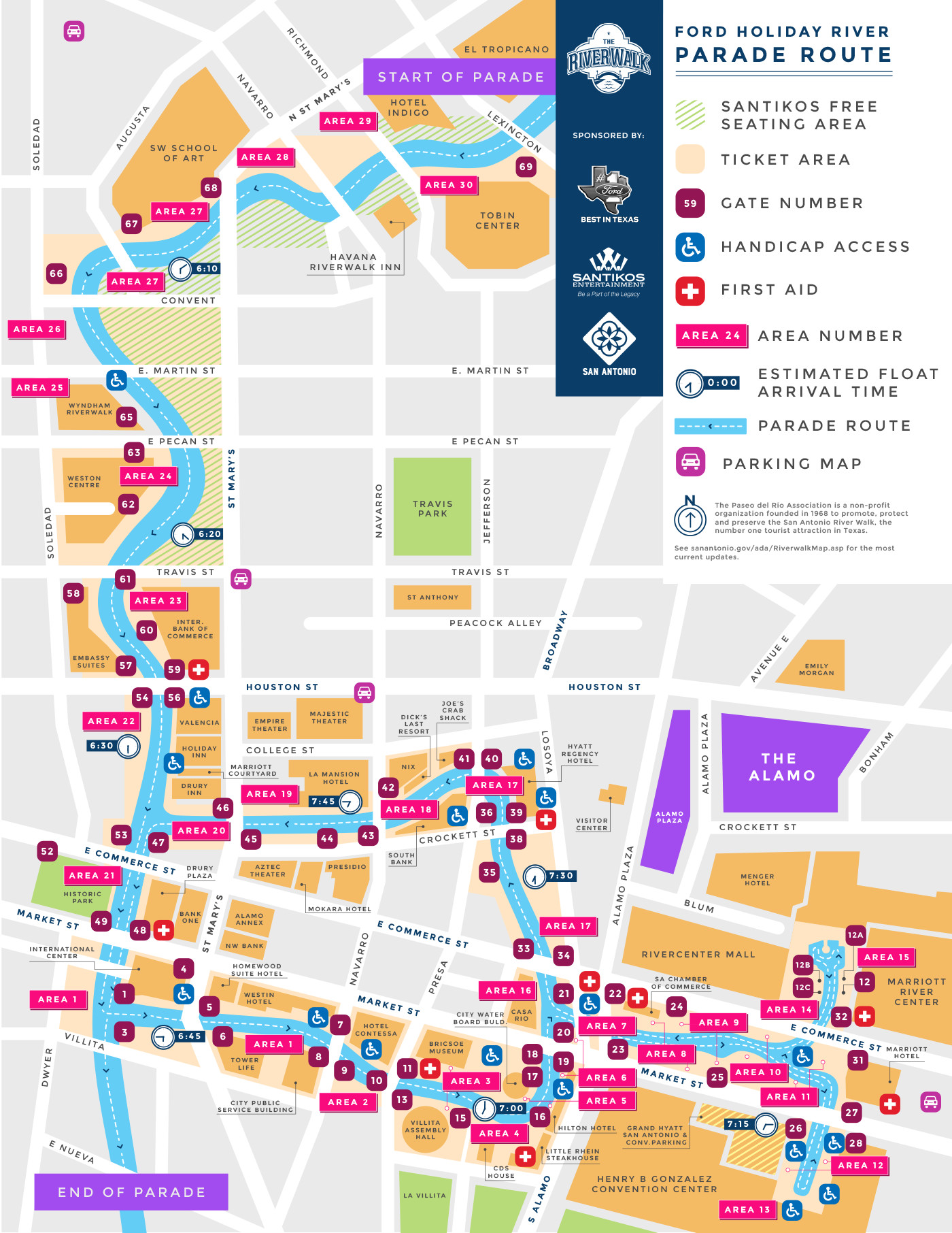 2017 Ford Holiday River Parade San Antonio Riverwalk Map Of Hotels on map of san antonio area, map of clearwater florida, map of san antonio missions, map of big bear ca, map of old san juan, map of san antonio downtown hotels, map of clearwater beach fl, map of wi dells, map of san antonio suburbs, map of busch gardens tampa, map of san antonio airport hotels, map of san antonio texas, map of san antonio attractions, map of san antonio counties, map of san antonio subdivisions, map of san antonio streets, map of san antonio 1836,