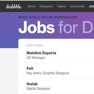Photo of best job boards for product and UX designers