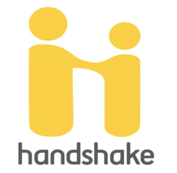 Photo of a review of Handshake as a job search tool