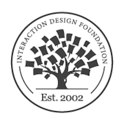 Photo of a review of Interaction Design Foundation as a product design resource