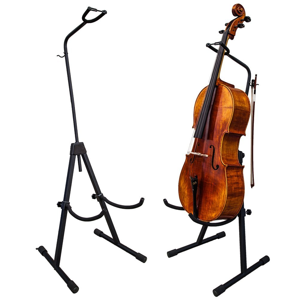 Adjustable cello stand