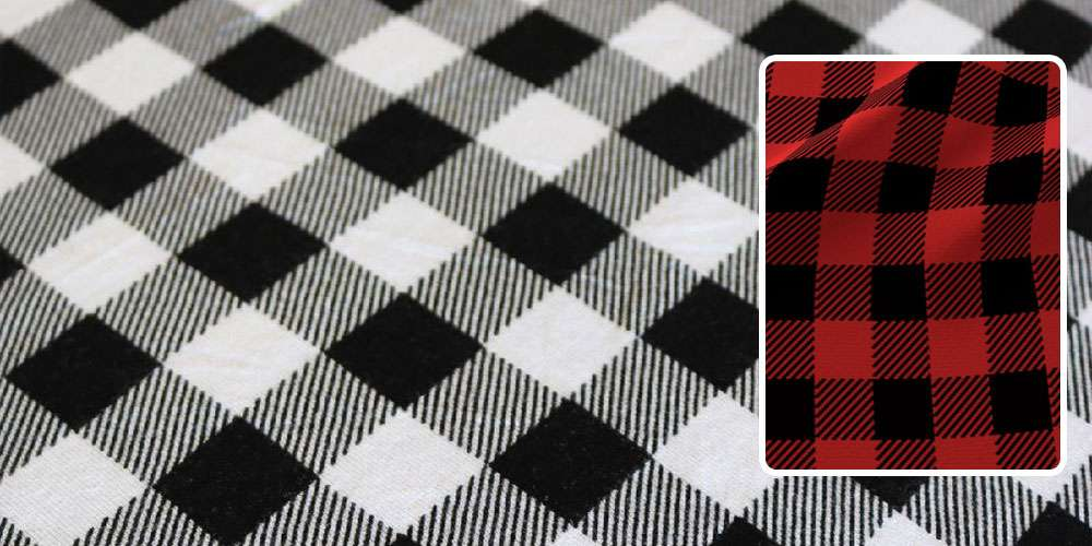 buffalo check fabric pattern