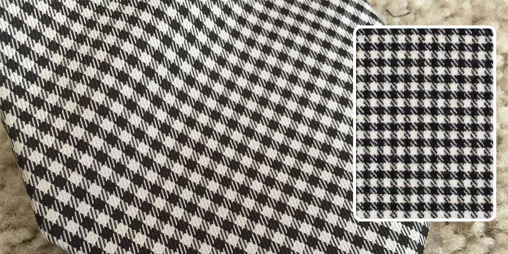 shepherd check fabric pattern