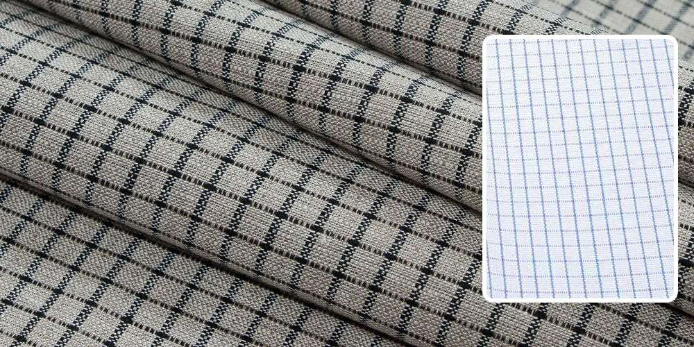 graph check fabric pattern