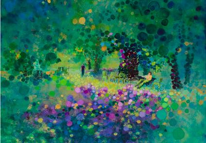 Jean Ellis Newman, painting