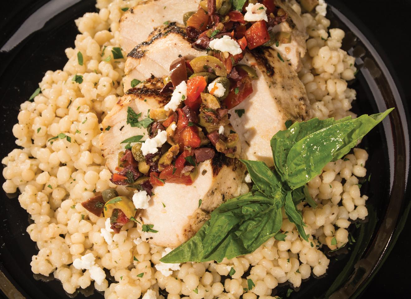 Mediterranean Chicken, Tapenade, Recipe, Plano Profile