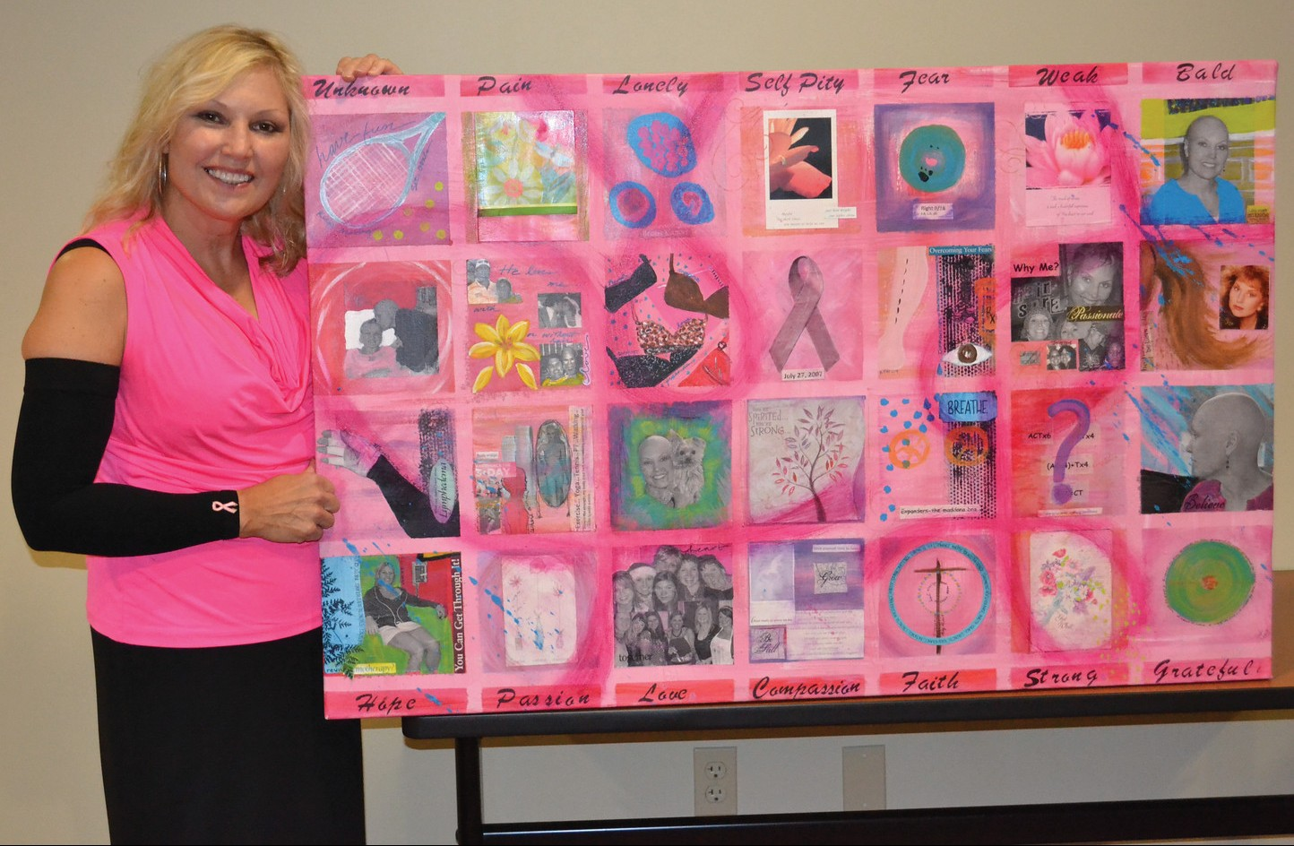 Jody Neice Cancer Painting