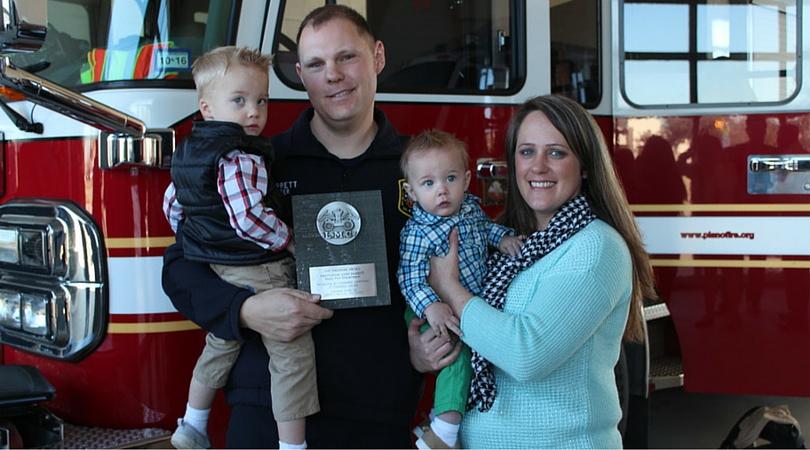 John Barrett Plano fireman