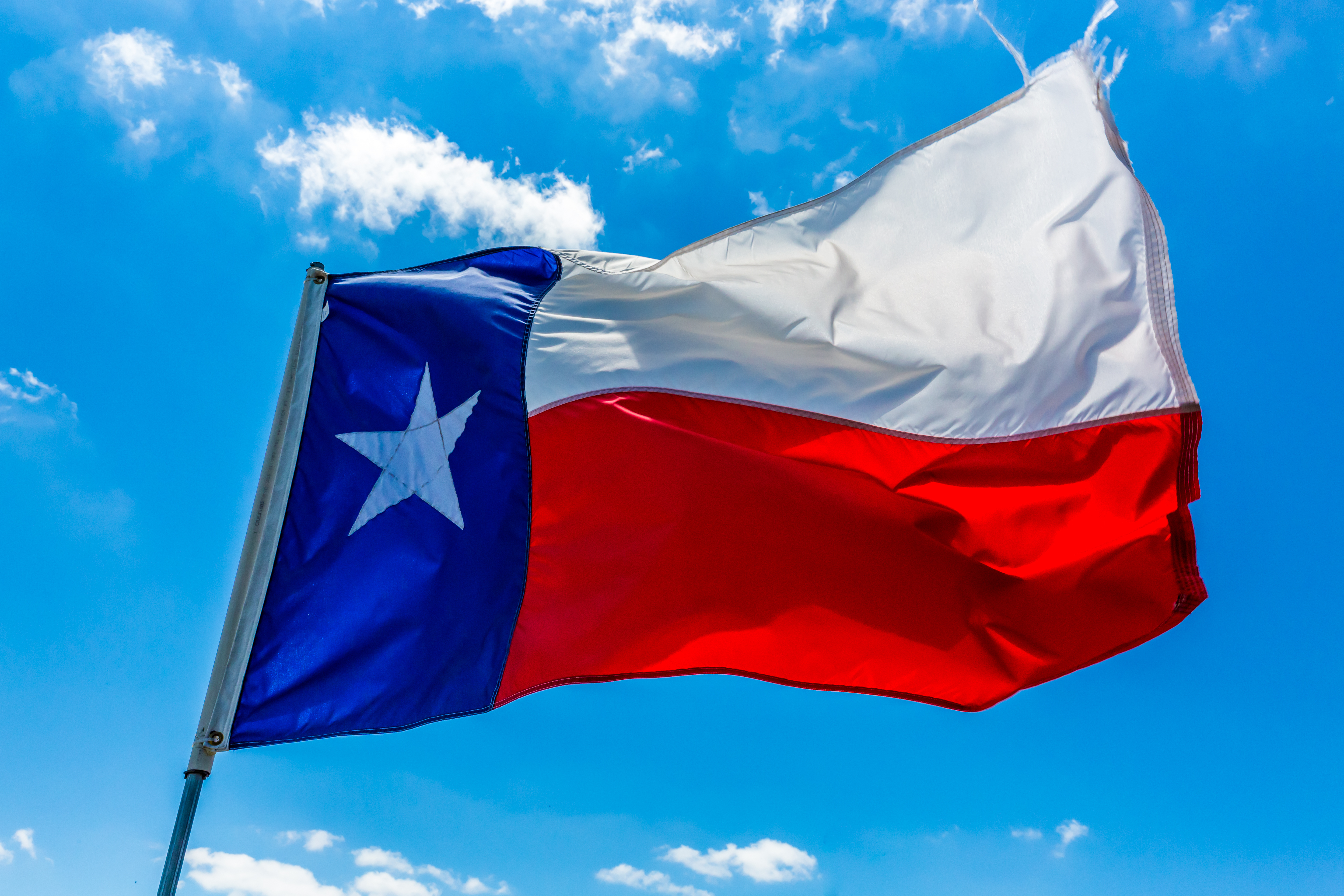 plano allen mckinney keep texas beautiful flag