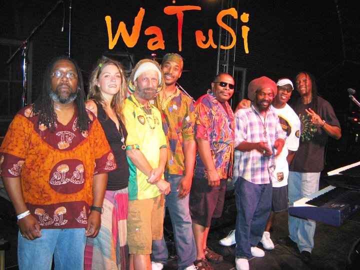Watusi performs at McCall Plaza in Downtown Plano