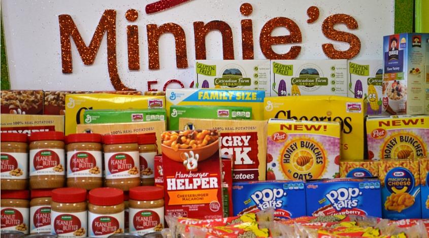 minnie's food pantry Plano non profit