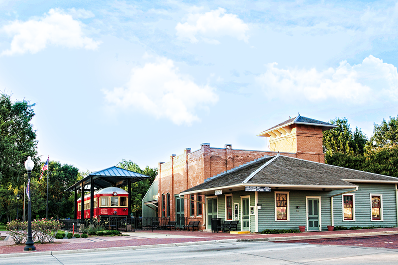 Downtown Plano Interurban Railway Museum