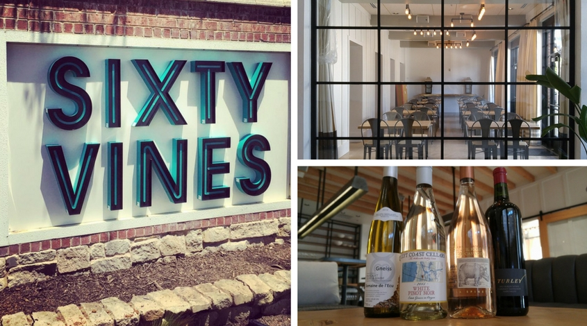 What to expect from Sixty Vines Plano