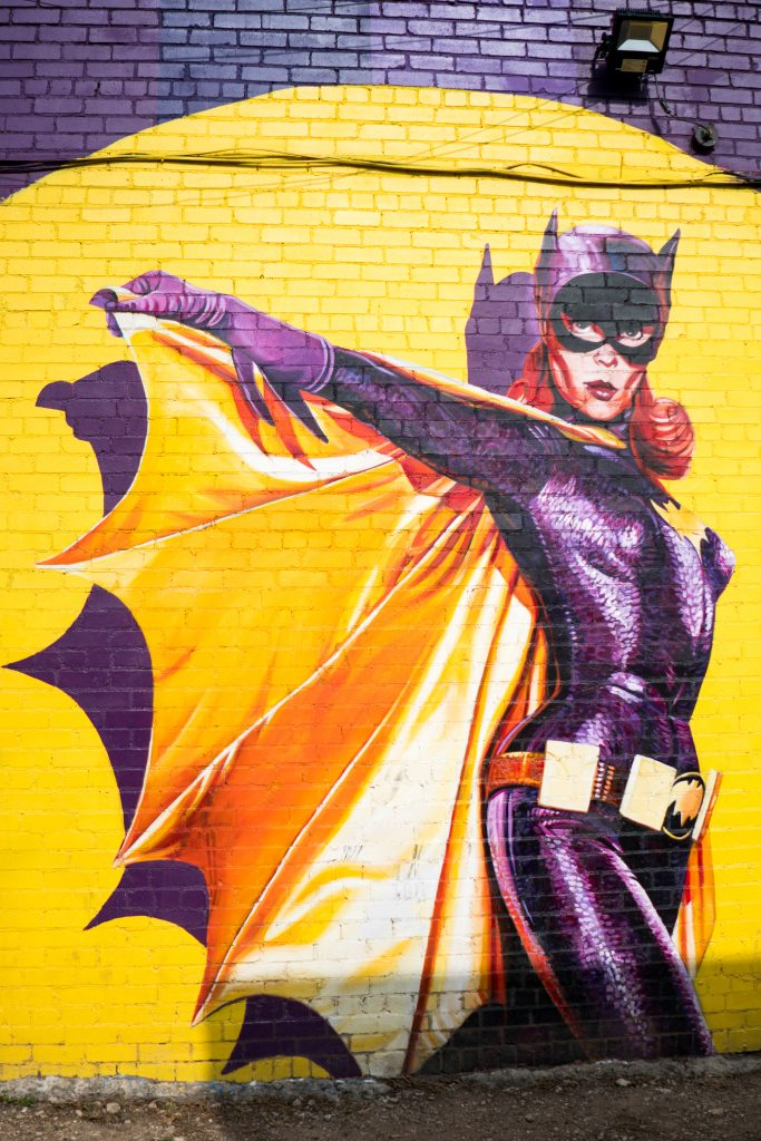 Oak Cliff's Batgirl