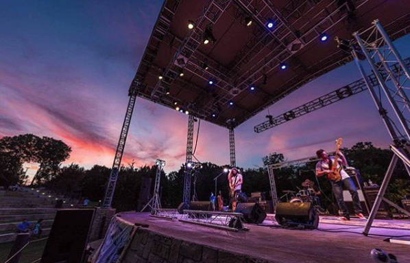 Oak Point Park Amphitheater, Plano Texas