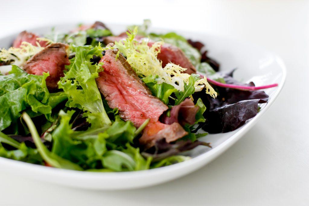 Recipe: Steak, Egg, & Blue Cheese Salad - Plano Profile Connecting ...