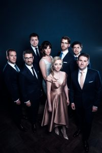 internationally acclaimed British vocal ensemble VOCES8, st andrew christmas, plano