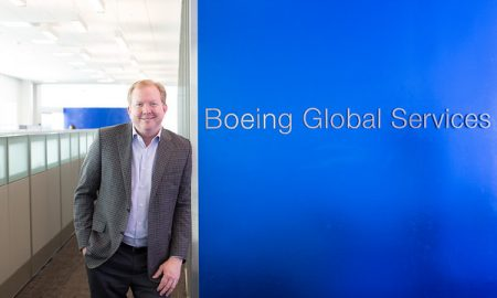 Boeing Global Services CEO Stanley Deal, Legacy West, Plano