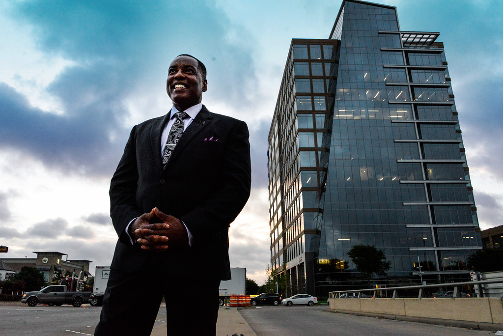 Plano Mayor Harry LaRosiliere. Photo by Stephanie Tann