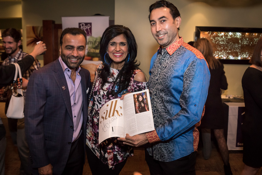 sunil dharoad, ruby bhandari, raj bhandari, silk threads, roy's restaurant, plano, hawaiian cuisine, hawaii