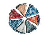 holiday gift guide plano EDWARD ARMAH Pocket Squares and Rounds, $80 each; Pockets Menswear at Legacy West