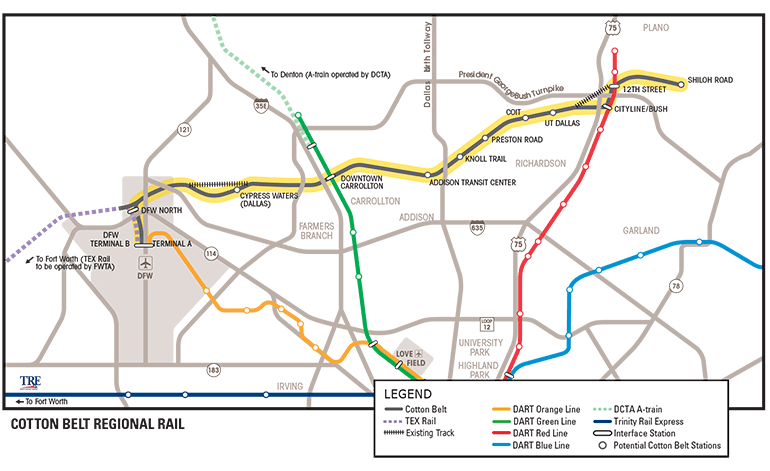 The state of transit in north Texas