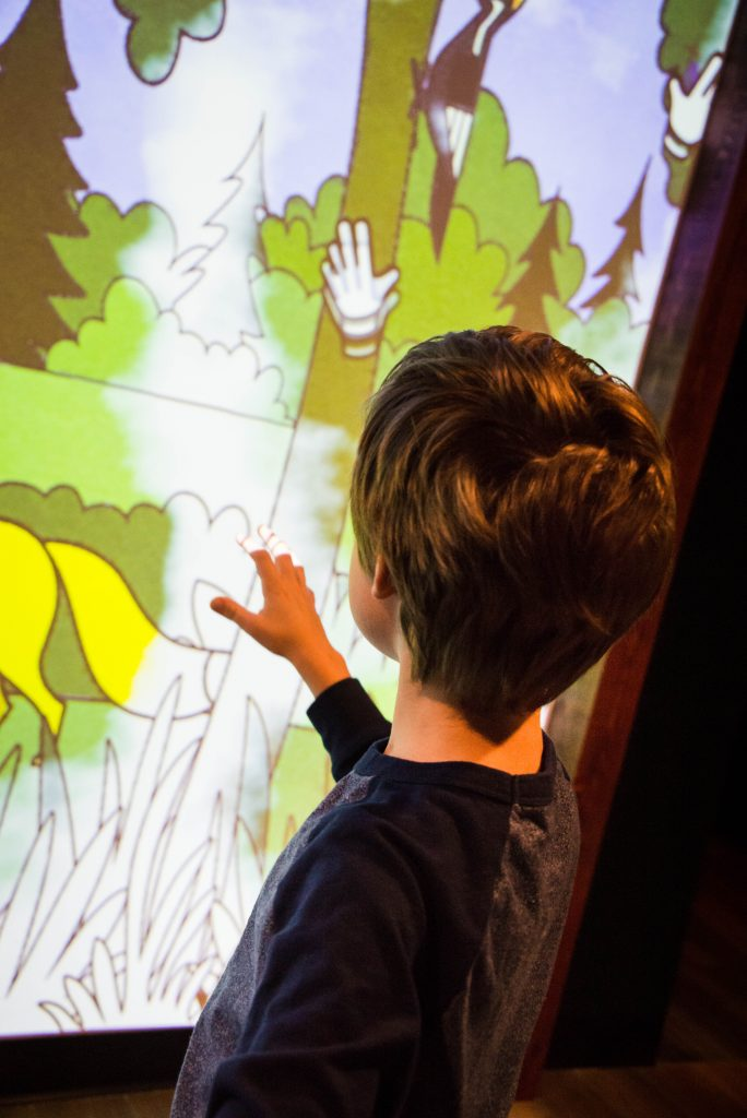 Camp Cinemark, Cinemark Allen 16, interactive coloring wall,