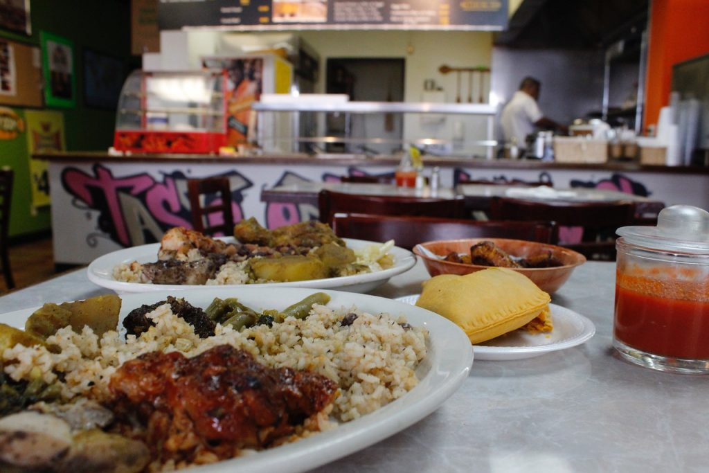 Taste of the Islands, Caribbean food, plano