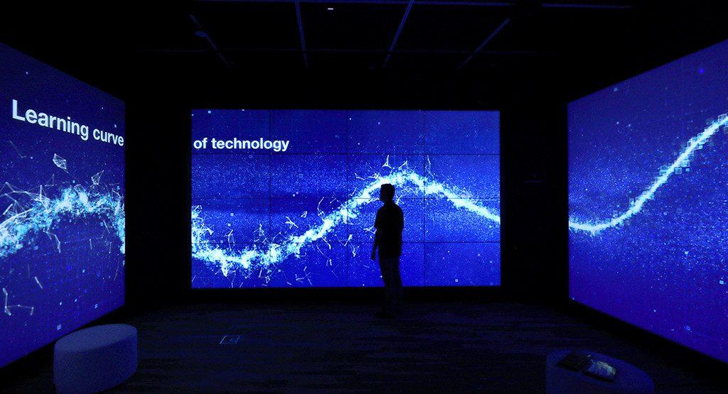 NTT Data, holodeck, X-Room, Plano, Legacy West