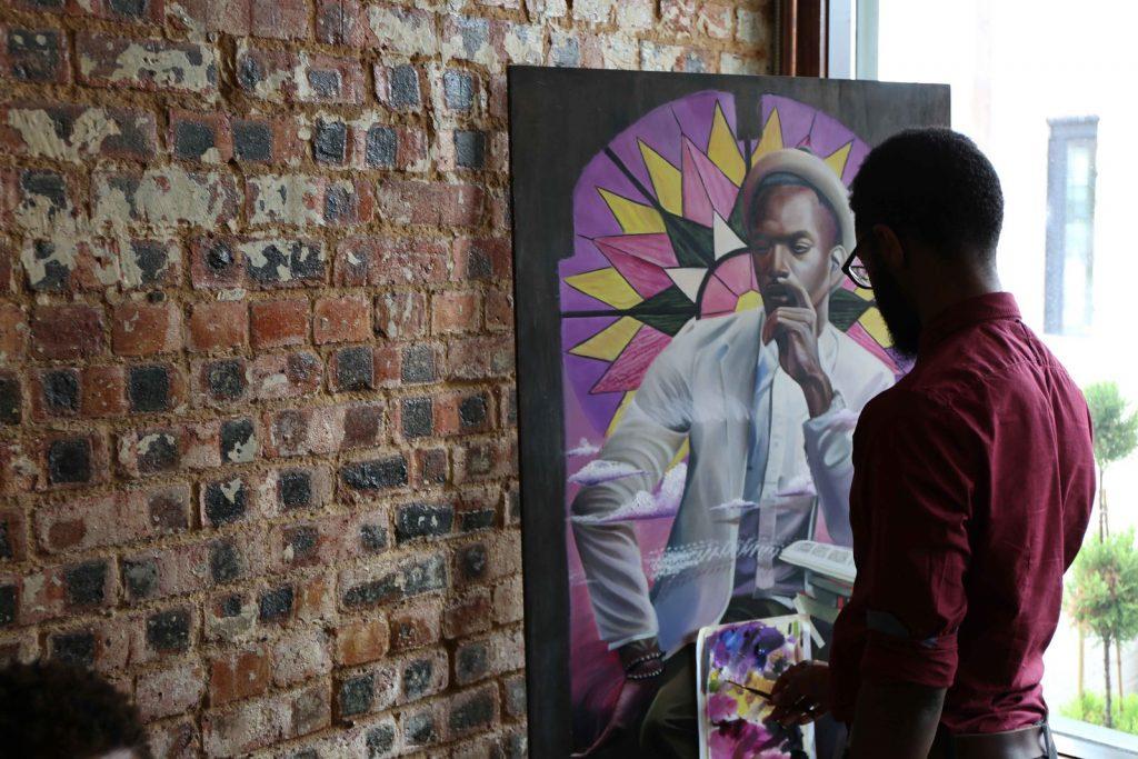art, artist, James Douglas Moore III, J.D., racism