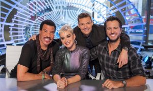 Lionel Richie, Katy Perry, Ryan Seacrest, Luke Bryan American Idol 2018