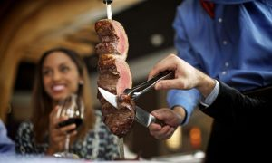 Fogo de Chao, Brazilian steakhouse,