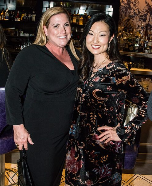 Justine Sweeney with Tammy Meinershagen at Toulouse Cafe & Bar, Legacy West plano, plano restaurant, plano profile