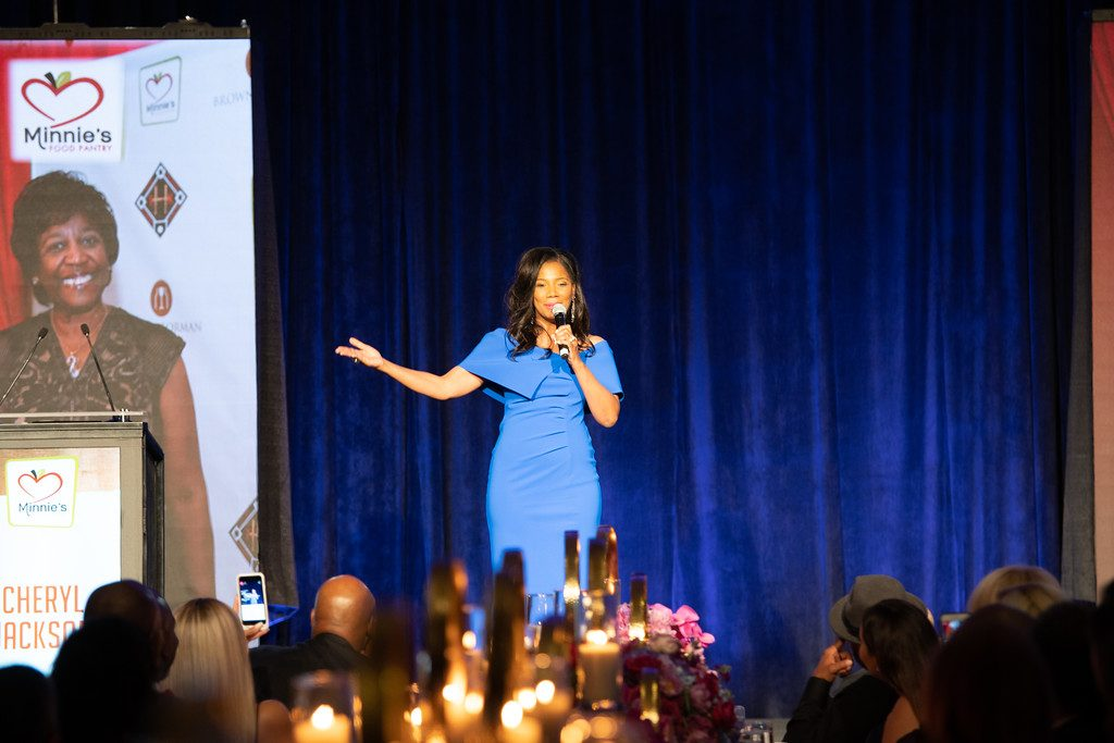 Oprah Winfrey Minnie's Food Pantry Cheryl Action Jackson Plano food pantry Plano Profile Feed just One Gala