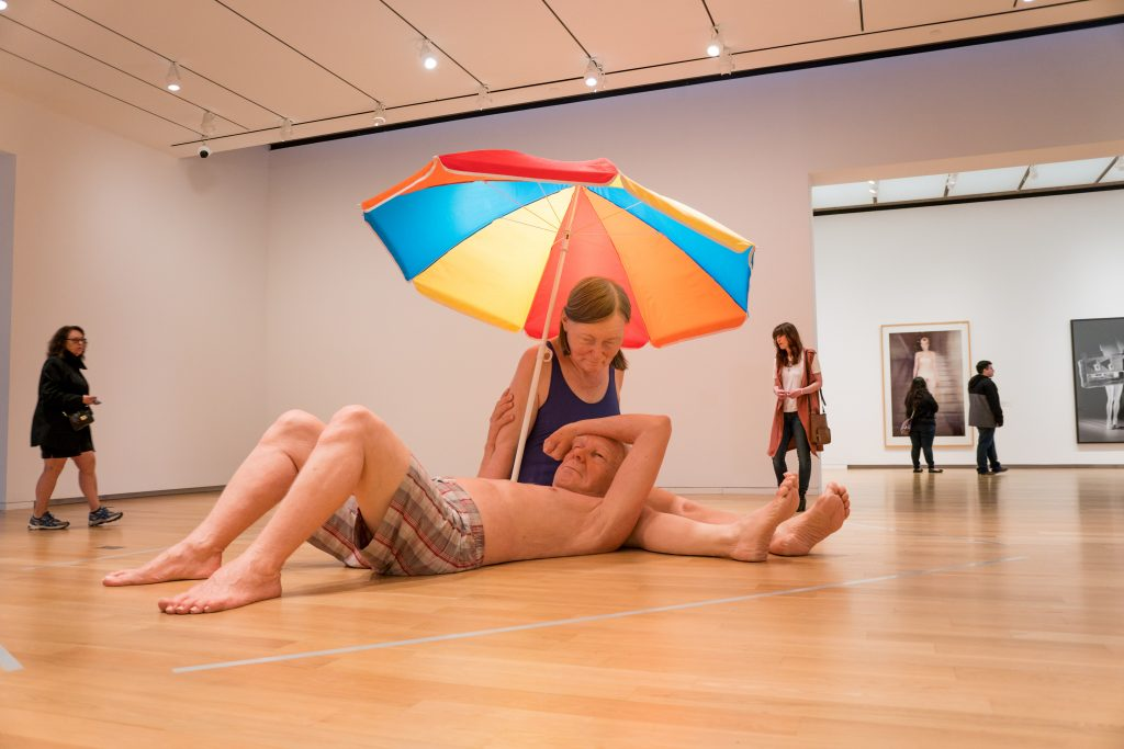 marvel at new works by ron mueck at the modern art museum of fort