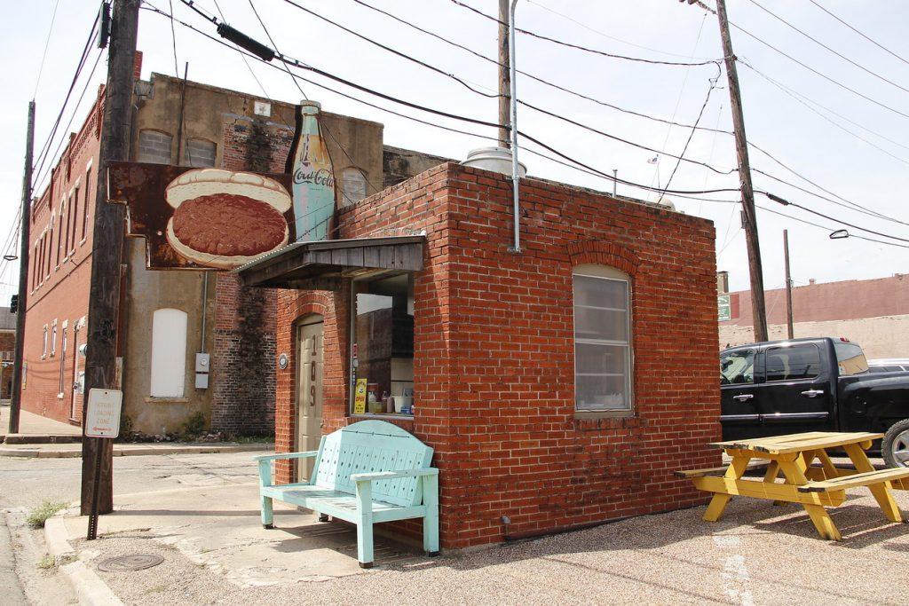 The Burger Bar, Cleburne, Texas