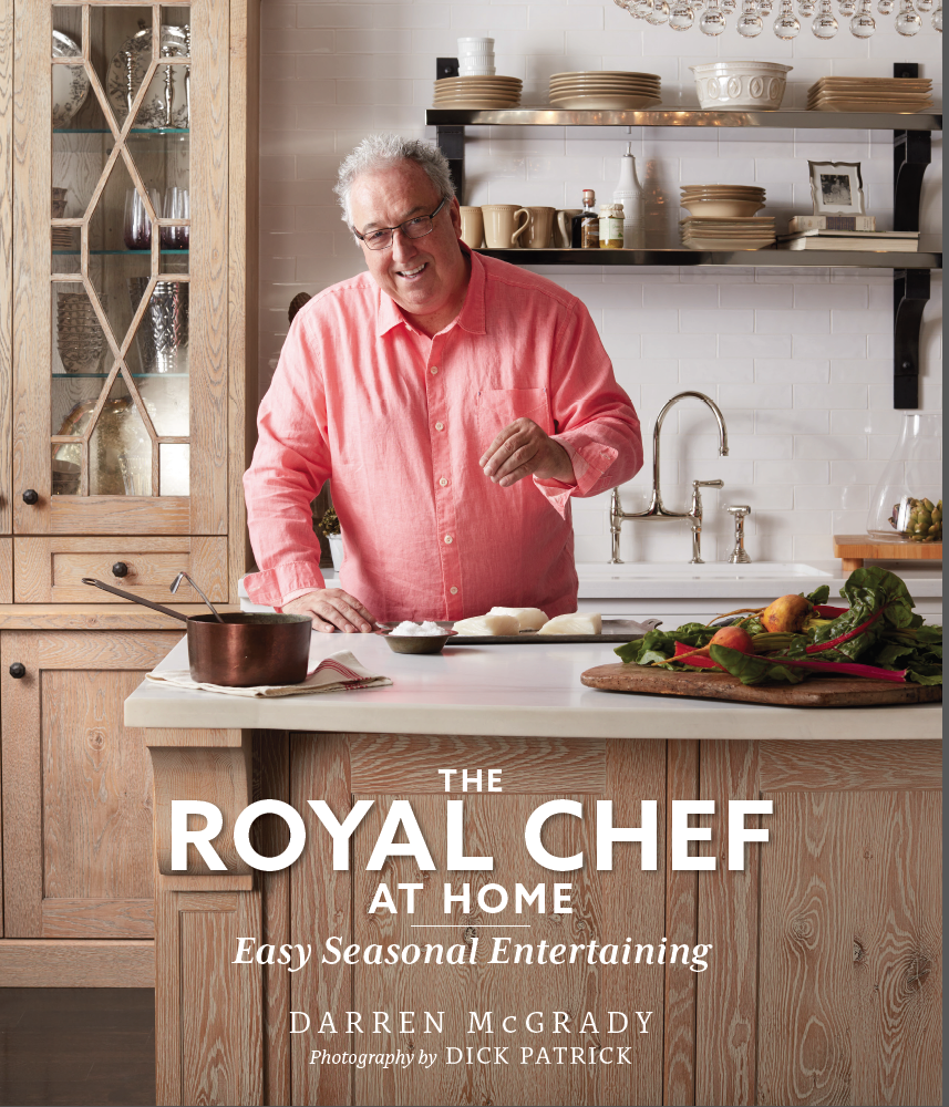 Royal Chef, Plano, Texas, Princess Diana, Prince Harry, Prince William, Chef Darren McGrady, Eating royally, the royal chef at home