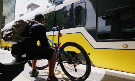 bike to work, transportation, DART