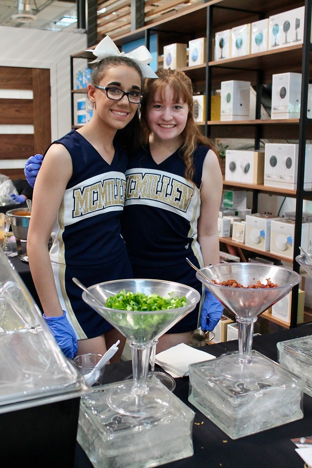 McMillen High School Cheerleaders, Catering by Larry, Sip & Shop pop-Up TreeHouse Plano, Plano Profile