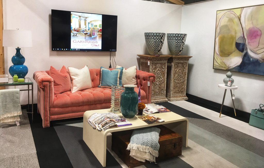 Sip & Shop pop-Up TreeHouse Plano, Plano Profile, Interior design by Gary Riggs Home,