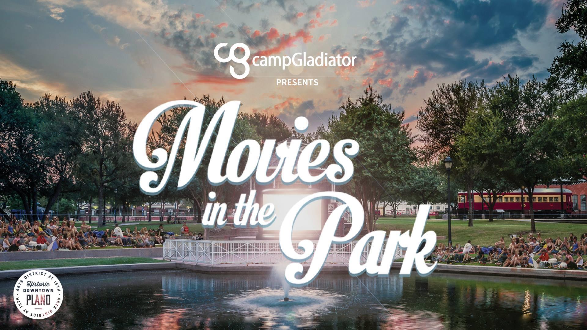 Movies in the Park, Camp Gladiator, LEGO Ninjago, Haggard Park