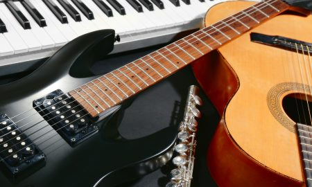 guitars, music