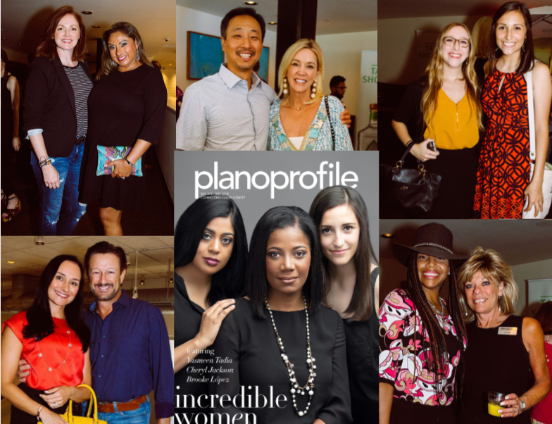Plano Profile cover party, mi cocina, the shops at legacy, yasmeen tadia, cheryl action jackson, brooke lopez